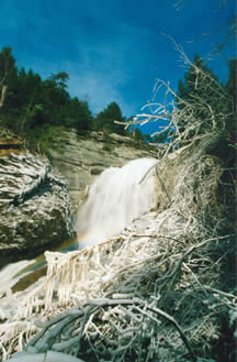 Russell Creek Falls in Wise County