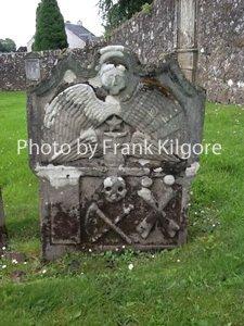 Ancient Headstone in Scotland