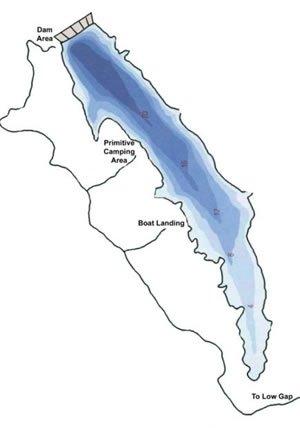 Hidden Valley Lake Map