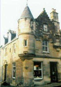 Violin Shop in Edinburgh, Scotland