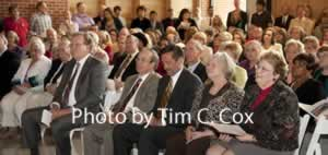 Alumni and supporters honor Dr. Prior