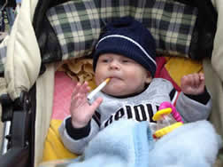 Is Smoking Around Children a Form of Child Abuse?